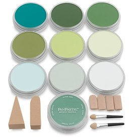 Pan Pastel PAN PASTEL GREENS SET/10