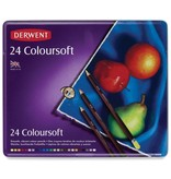 DERWENT DERWENT COLOURSOFT SET/24