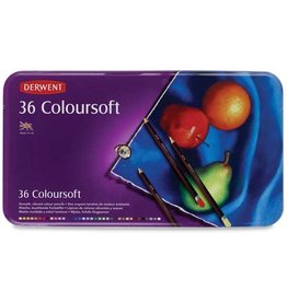 DERWENT DERWENT COLOURSOFT SET/36