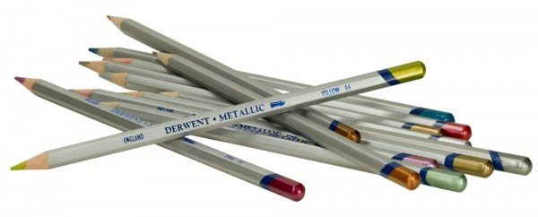 DERWENT DERWENT METALLIC WATERCOLOUR PENCIL BRONZE