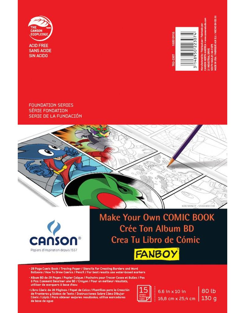 CANSON CANSON MAKE YOUR OWN COMIC BOOK KIT    CAN-100510910