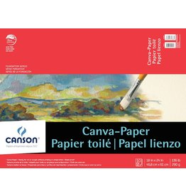 CANSON CANSON FOUNDATION CANVA-PAPER PAD 18X24 136LB  10/SHT    CAN-100510845