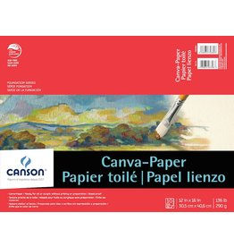 CANSON CANSON FOUNDATION CANVA-PAPER PAD 12X16 136LB  10/SHT    CAN-100510842