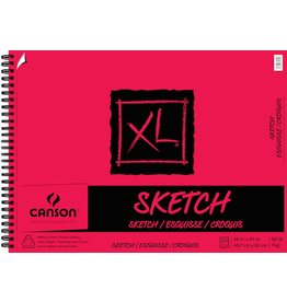 CANSON CANSON XL SKETCH PAD 18X24 50LB SIDE COIL  50/SHT    CAN-100510940
