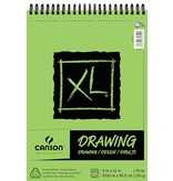 CANSON CANSON XL DRAWING PAD 9X12 70LB TOP COIL  60/SHT    CAN-100510936
