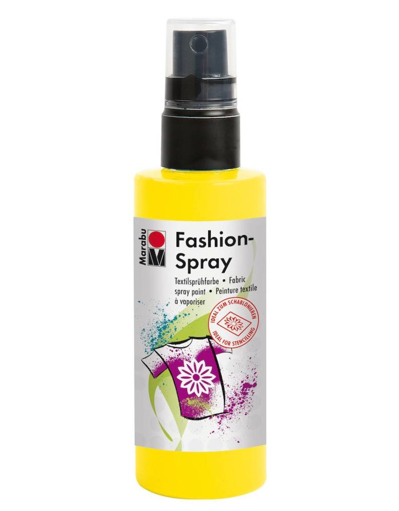 MARABU MARABU FASHION SPRAY SUNSHINE YELLOW 100ML    MAR-17199050220