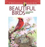 DOVER PUBLICATIONS CREATIVE HAVEN BEAUTIFUL BIRDS COLOURING BOOK