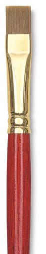 WINSOR NEWTON SCEPTRE GOLD BRUSH SERIES 505 FLAT 12