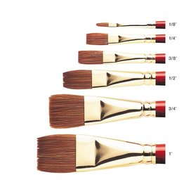 WINSOR NEWTON SCEPTRE GOLD BRUSH SERIES 606 FLAT WASH 1''