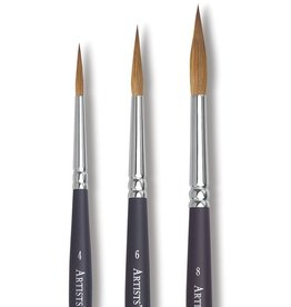 WINSOR NEWTON WINSOR & NEWTON PROFESSIONAL WATERCOLOUR BRUSH POINTED ROUND 6