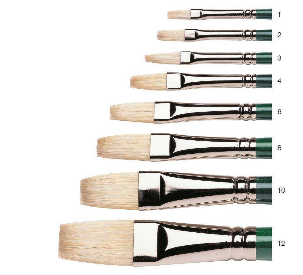 WINSOR NEWTON WINTON BRUSH FLAT 3
