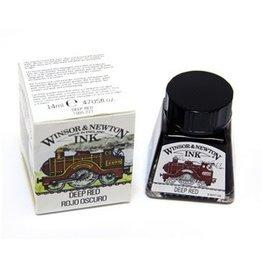 WINSOR NEWTON WINSOR & NEWTON DRAWING INK DEEP RED 14ML