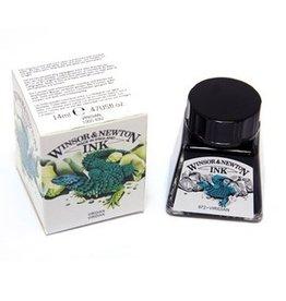 WINSOR NEWTON WINSOR & NEWTON DRAWING INK VIRIDIAN 14ML