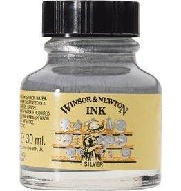 WINSOR NEWTON WINSOR & NEWTON DRAWING INK SILVER 30ML