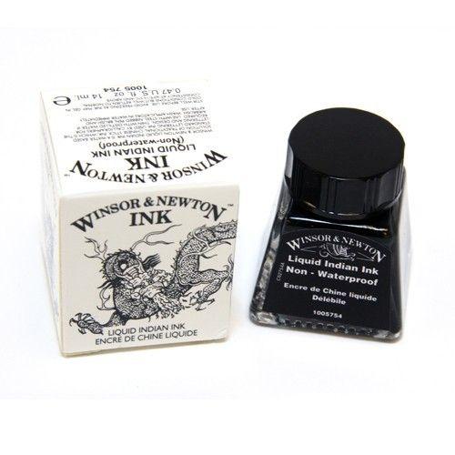 WINSOR NEWTON WINSOR & NEWTON DRAWING INK LIQUID INDIAN 14ML