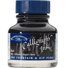 WINSOR NEWTON WINSOR & NEWTON CALLIGRAPHY INK BLACK 30ML