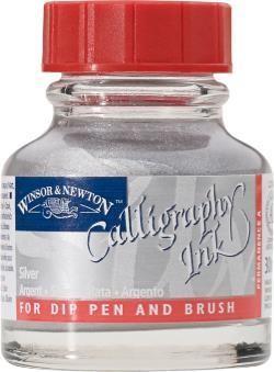 WINSOR NEWTON WINSOR & NEWTON CALLIGRAPHY INK SILVER 30ML