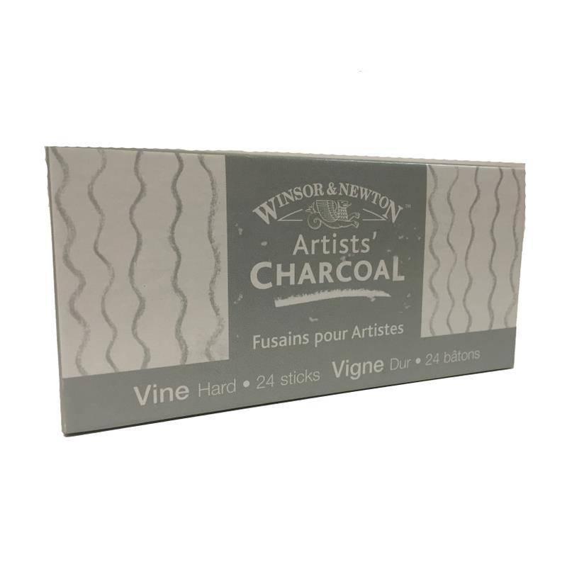 WINSOR NEWTON WINSOR & NEWTON VINE CHARCOAL HARD 24/PK