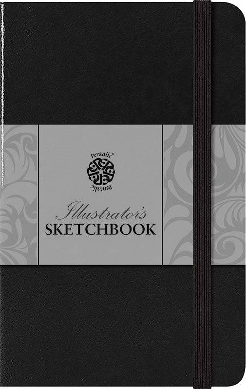 PENTALIC PENTALIC ILLUSTRATORS SKETCHBOOK 8X5 ESPRESSO    PTL-018011
