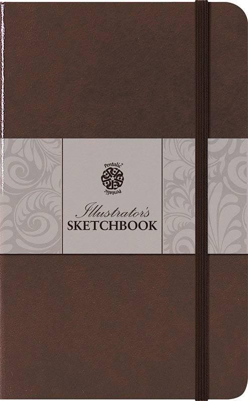 PENTALIC PENTALIC ILLUSTRATORS SKETCHBOOK 8X5 MOCHA     PTL-018022
