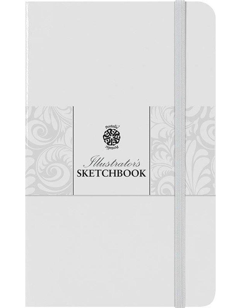 PENTALIC PENTALIC ILLUSTRATORS SKETCHBOOK 8X5 WHITE CHOCOLATE    PTL-018023