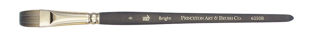 PRINCETON PRINCETON UMBRIA BRUSH SERIES 6250 SPECIAL SYNTHETIC SH BRIGHT 10