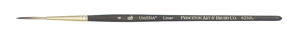 PRINCETON PRINCETON UMBRIA BRUSH SERIES 6250 SPECIAL SYNTHETIC SH LINER 4