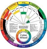 COLOR WHEEL COMPANY ARTIST'S COLOR WHEEL MIXING GUIDE 9.5 INCH    3541