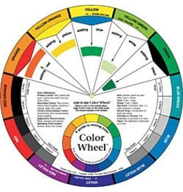 COLOR WHEEL COMPANY ARTIST'S COLOR WHEEL MIXING GUIDE 9.5 INCH    3541