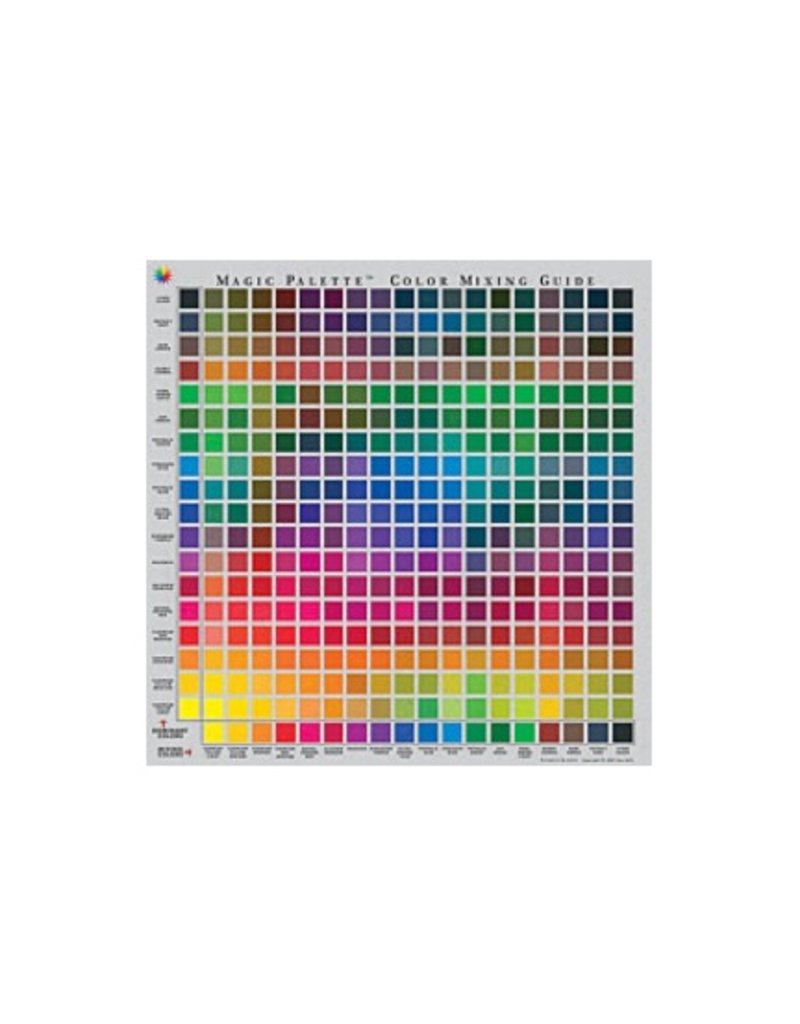 magic palette color mixing guide