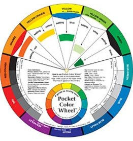 COLOR WHEEL COMPANY POCKET COLOR WHEEL MIXING GUIDE