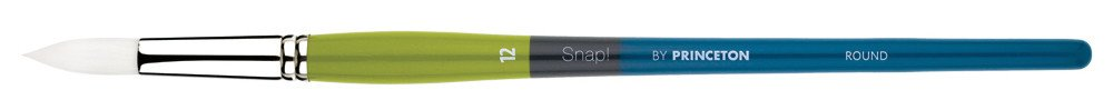 PRINCETON PRINCETON SNAP BRUSH SERIES 9800 WHITE SYNTHETIC LH ROUND 6