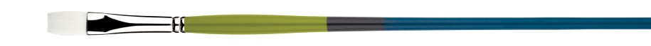 PRINCETON PRINCETON SNAP BRUSH SERIES 9800 WHITE SYNTHETIC LH FLAT 4
