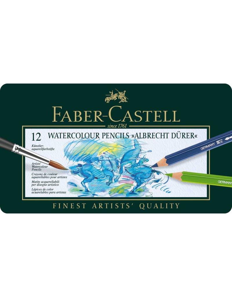 FABER CASTELL ALBRECHT DURER WATERCOLOUR PENCIL SET/12    FAC-117512