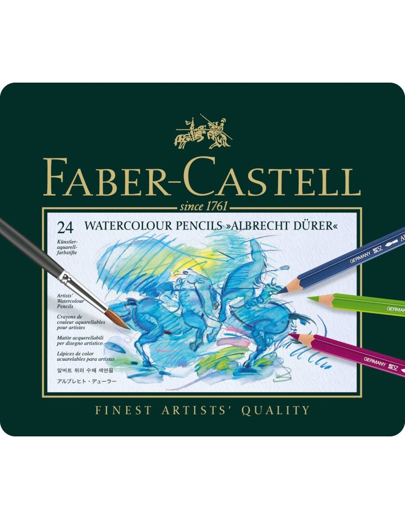 FABER CASTELL ALBRECHT DURER WATERCOLOUR PENCIL SET/24    FAC-117524