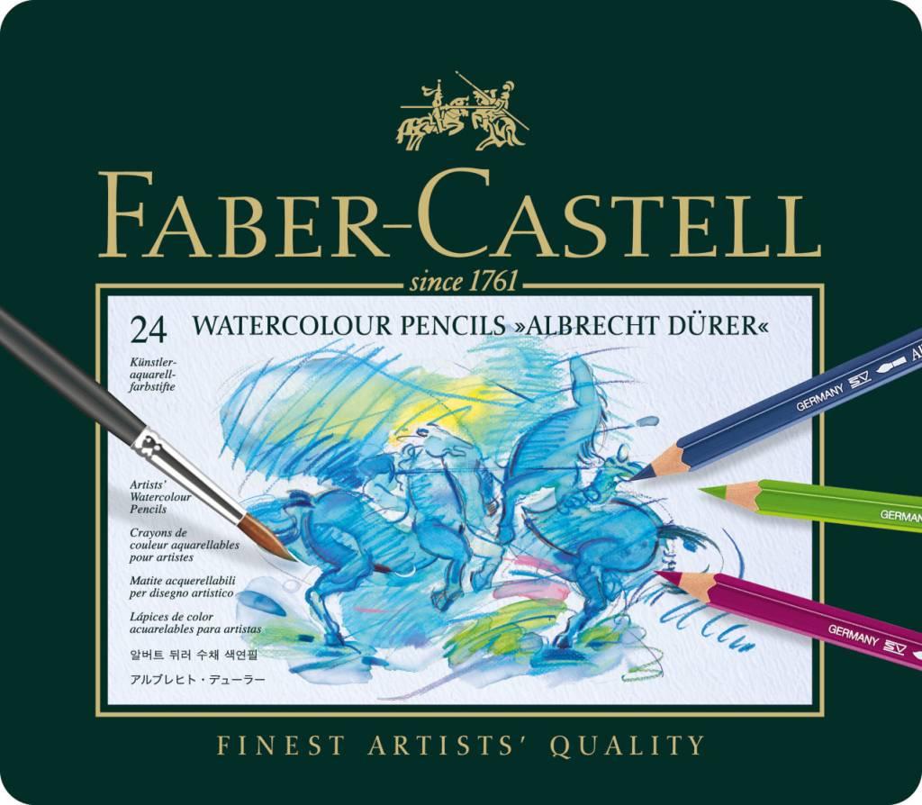 FABER CASTELL ALBRECHT DURER WATERCOLOUR PENCIL SET/24    FAC-117524