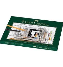 FABER CASTELL FABER CASTELL MIXED MEDIA TIN ALBRECHT DURER AND PITT ARTIST PEN    FAC-217504