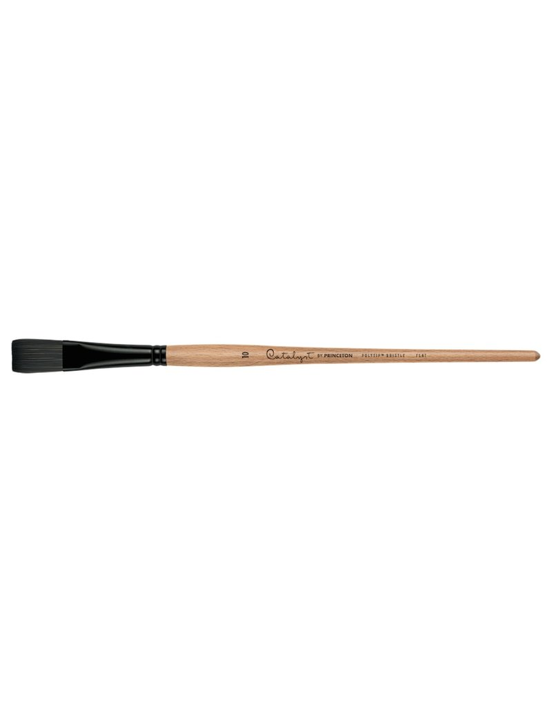 PRINCETON PRINCETON CATALYST BRUSH SERIES 6400 POLYTIP BRISTLE FLAT 24