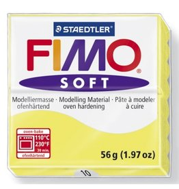 STAEDTLER FIMO SOFT OVEN BAKE CLAY 10 LEMON 57G