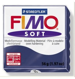 STAEDTLER FIMO SOFT OVEN BAKE CLAY 35 WINDSOR BLUE 57G