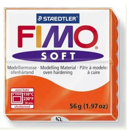 STAEDTLER FIMO SOFT OVEN BAKE CLAY 42 TANGERINE 57G