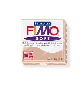 STAEDTLER FIMO SOFT OVEN BAKE CLAY 43 FLESH 57G