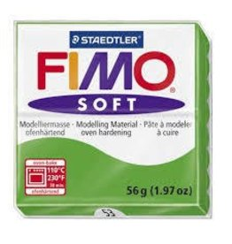 STAEDTLER FIMO SOFT OVEN BAKE CLAY 53 TROPICAL GREEN 57G