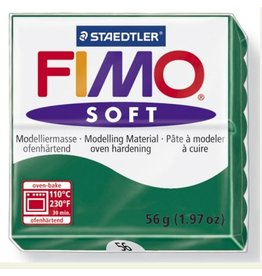 STAEDTLER FIMO SOFT OVEN BAKE CLAY 56 EMERALD 57G
