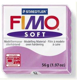 STAEDTLER FIMO SOFT OVEN BAKE CLAY 62 LAVENDER 57G