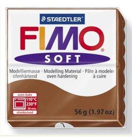 STAEDTLER FIMO SOFT OVEN BAKE CLAY 7 CARAMEL 57G