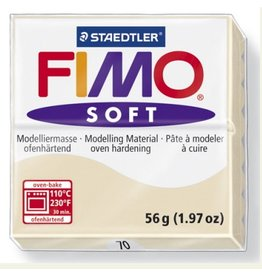 STAEDTLER FIMO SOFT OVEN BAKE CLAY 70 SAHARA 57G