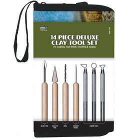 PRO ART PRO ART DELUXE CLAY TOOL SET 14PC