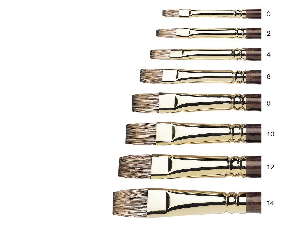 WINSOR NEWTON WINSOR & NEWTON MONARCH BRUSH FLAT 10