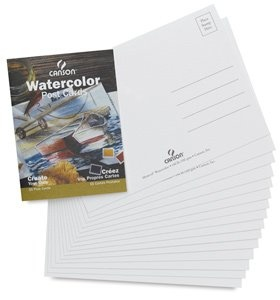 CANSON CANSON WATERCOLOUR POSTCARDS 15/PK    CAN-100511543